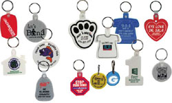 Soft Squeezable Key Tags and Zipper Pulls